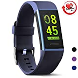 MorePro X-Core Fitness Tracker HR, Waterproof Color Screen Activity Tracker with Heart Rate Blood Pressure Monitor, Smart Wristband Pedometer Watch with Step Calories Counter for Kids Women and Men