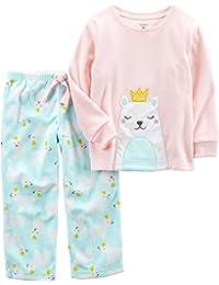Carter's Baby Girls' 12M-14 2 Piece Polar Princess Fleece Pajama Set