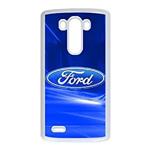Personalized Durable Cases LG G3 Cell Phone Case White Ford Fmjrl Protection Cover
