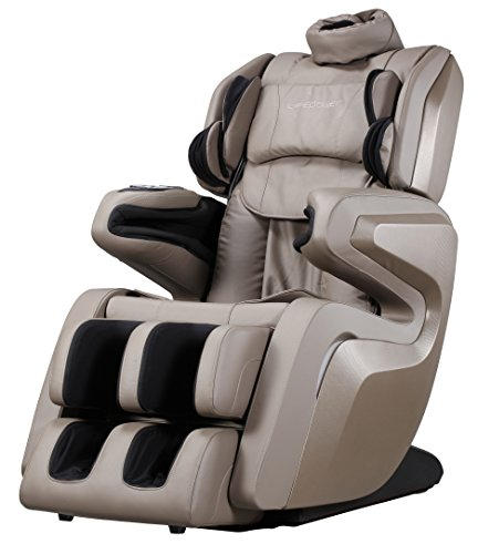 New Fujita KN9005 - 3D Full Body Massage Chair Recliner w/ 3 Year Warranty (Olive Grey)