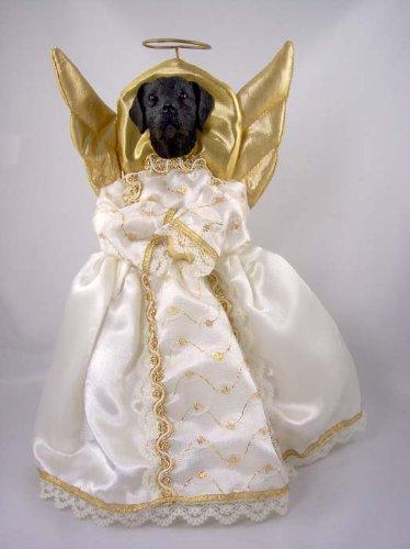 (Labrador Retriever Black Angel Tree)