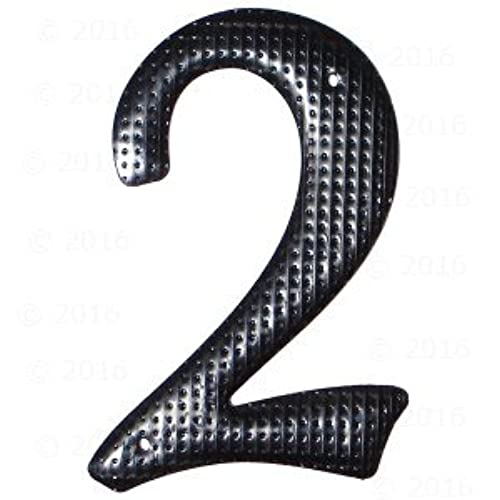 "3.75"" - ""2"" Black House Number (3 pieces)"