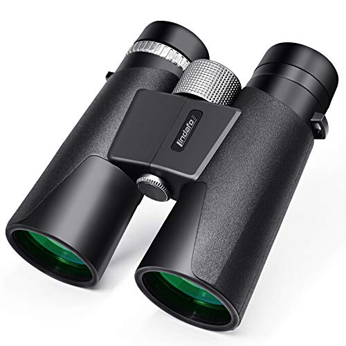 🥇 12×42 Binoculars for Adults – HD Low Light Night Vision – Compact Lightweight