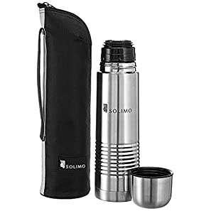 Amazon Brand – Solimo Thermal Stainless Steel Flask (1000 ml)