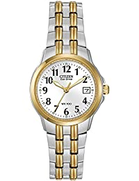 Women's Eco-Drive Watch with Date, EW1544-53A