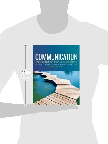 Communication: Principles for a Lifetime (5th Edition) by Pearson