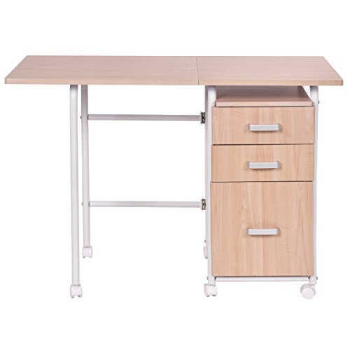 Tangkula Folding Computer Wheeled Furniture product image