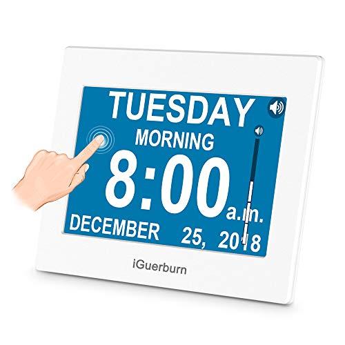 iGuerburn Talking Day Clock 8