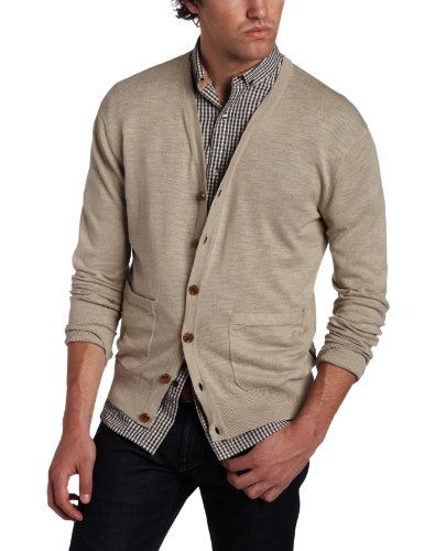 French Connection Men's Wicklow Linen Cardigan