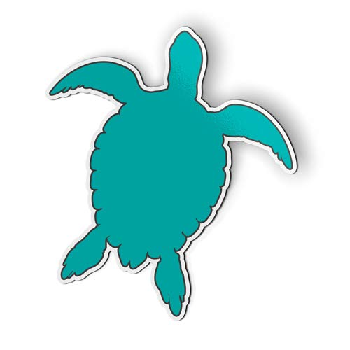 AK Wall Art Sea Turtle Swimming - Magnet - Car Fridge Locker - Select Size