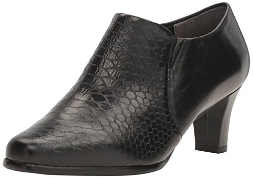 Trotters Womens Jolie Boot, Black Soft Leather, 5 M US, Black, 8.5 B(M) US