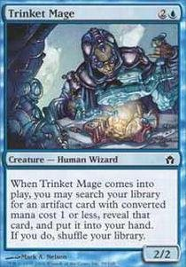 Fifth Dawn Game Card - Magic: the Gathering - Trinket Mage - Fifth Dawn