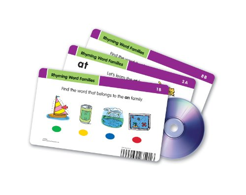 Learning Resources Radius CD Card Set Rhyming Word Families