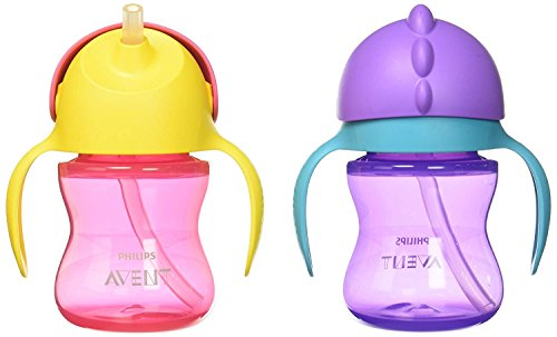 Avent 2 Piece My Bendy Straw Cup