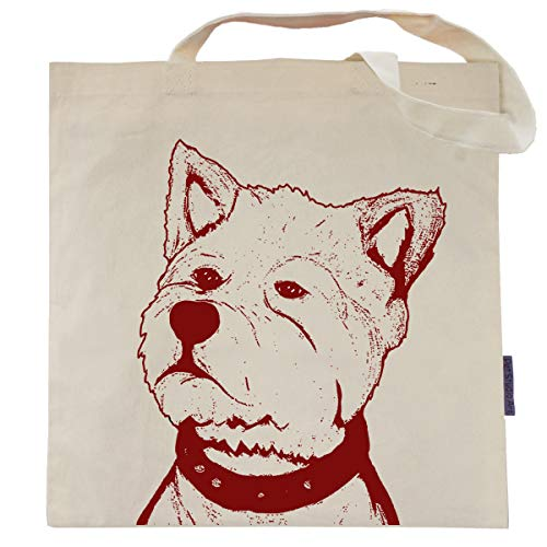 Norman the West Highland Terrier Tote Bag by Pet Studio Art