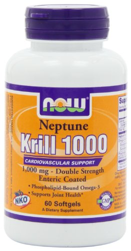 Now Foods Neptune Krill Oil 1000mg Soft-gels, 60-Count, Health Care Stuffs