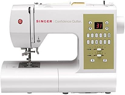 SINGER Confidence Quilter - Máquina de coser (Máquina de coser automática, Costura, 1 paso, Variable, LCD, Variable): Amazon.es: Hogar