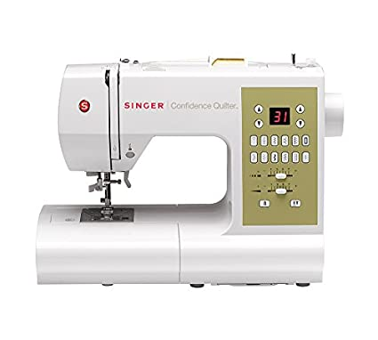 Amazon SINGER 40Q Confidence Quilter Computerized Electronic Adorable Good Sewing Machine For Beginner Quilter