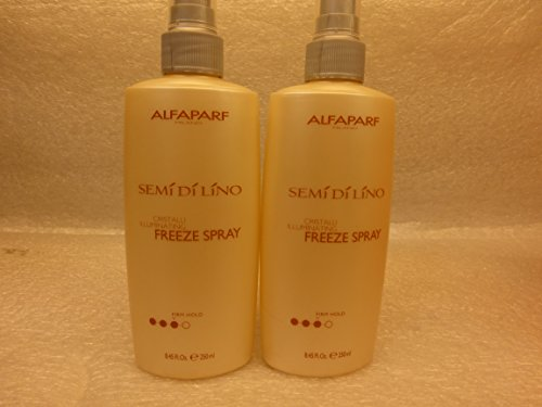 Alfaparf Semi Di Lino Cristalli Illuminating Freeze Firm Hold Hair Spray 8.45 (Di Lino Illuminating Hair Spray)