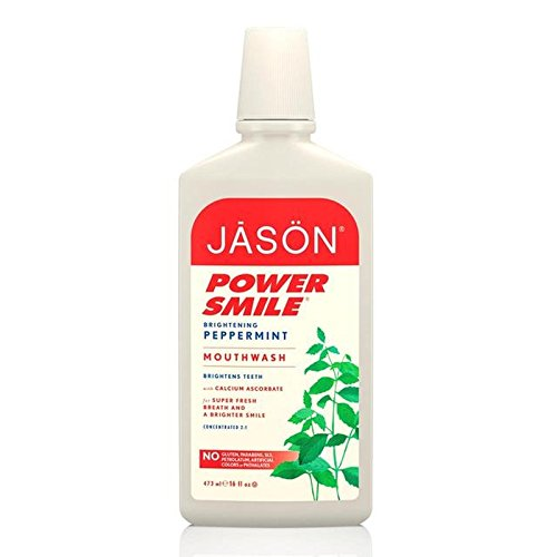 Jason Powersmile Mouthwash 480ml (Pack of 6) - ジェイソンマウスウォッシュ480ミリリットル x6 [並行輸入品] B071KWLPQN