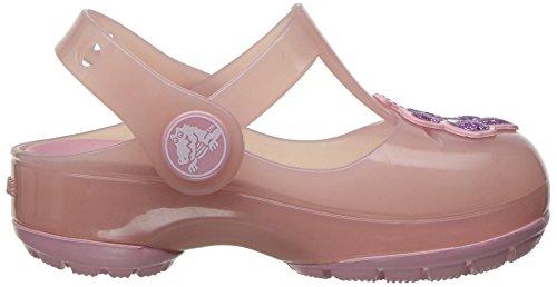 crocs Mädchen 204034 Closed-Toe Ballerinen Pink (Blush)