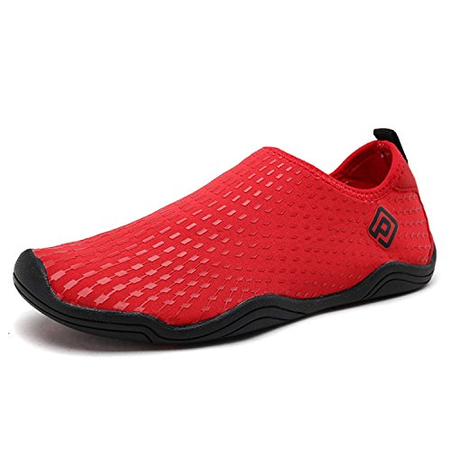 DREAM PAIRS Little Kid 160933-K Red Black Athletic Water Shoes - 13 M US Little Kid by DREAM PAIRS