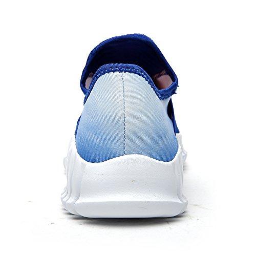 Aleader Performance - Zapatillas de running de tela para hombre Azul