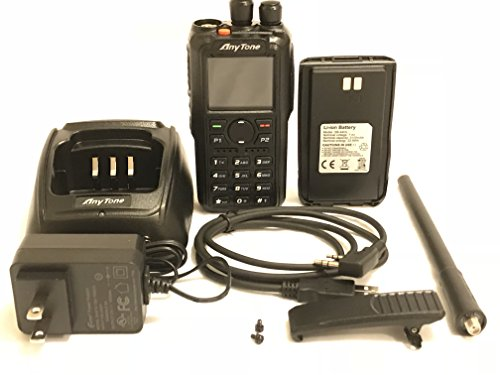 AnyTone AT-D868UV GPS Version II Upgraded 3100mAh battery Dual Band DMR/Analog 144 & 430 MHz Radio US Seller by AnyTone (Image #5)