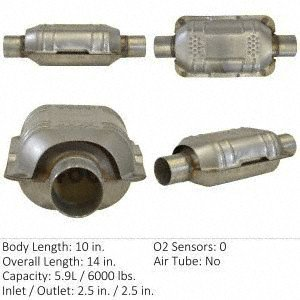 Eastern 70318 Catalytic Converter (Non-CARB (Catalytic Converter F150)