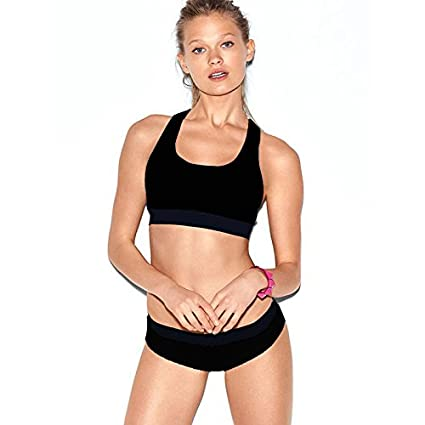 320e13a1d8a Image Unavailable. Image not available for. Color  Hjuns Women s Sports Bra  and Panty Set ...