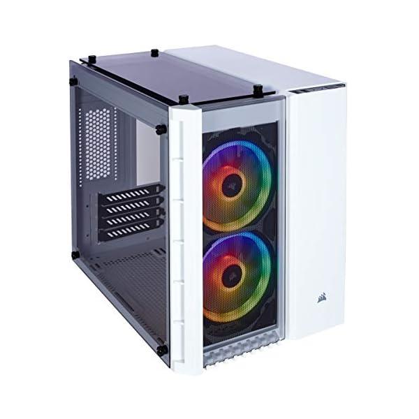 Caja Corsair Crystal Series 280X RGB tres paneles de cristal templado