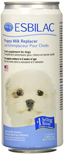 (Esbilac (6 Pack) Liquid for Puppies, Milk Replacer - 11 Ounces Each )