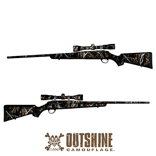 GunSkins Rifle Skin Camouflage Wrap Kit (Outshine Camouflage®)