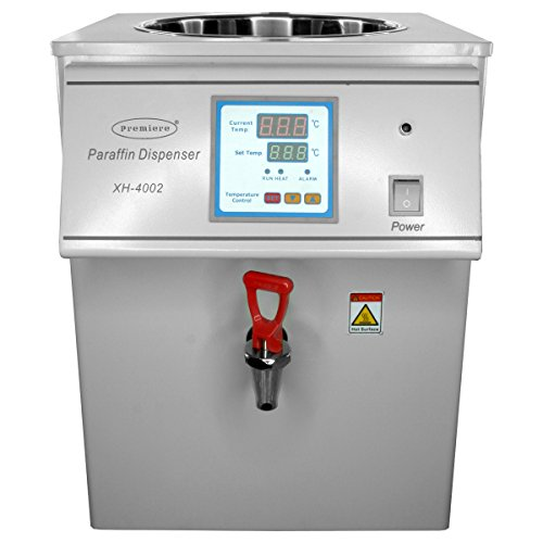 Premiere Paraffin Dispenser - Tabletop Style Dispenser with Built in Digital Temperature Controller, and Heated Faucet