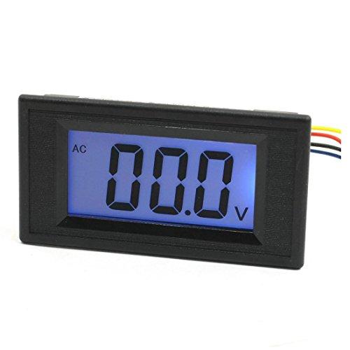 Voltmeter Panel (Digital Voltmeter - TOOGOO(R) Panel Mount LCD Display Voltage Measuring Voltmeter AC 0-200V)