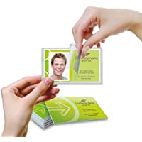 Self-Laminating Business Card Laminating Pouches (2-5/8 x 4) 100/bx