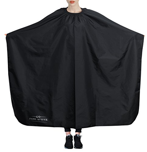 Barber Gown - Hairdresser Cape - Packs of 1, 4, and 6-100% Nylon - Adjustable Clasp to Fit Any Neck Size – Suitable for Adults and Children - Easy to Clean – Perfect for Professional Hairdressers
