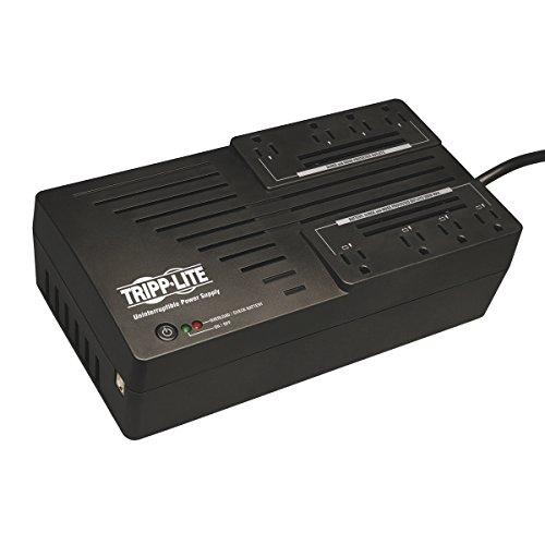 Ups 8 Outlet Usb - Tripp Lite 550VA UPS Battery Backup, 300W AVR Line Interactive, USB, Ultra-Compact (AVR550U)