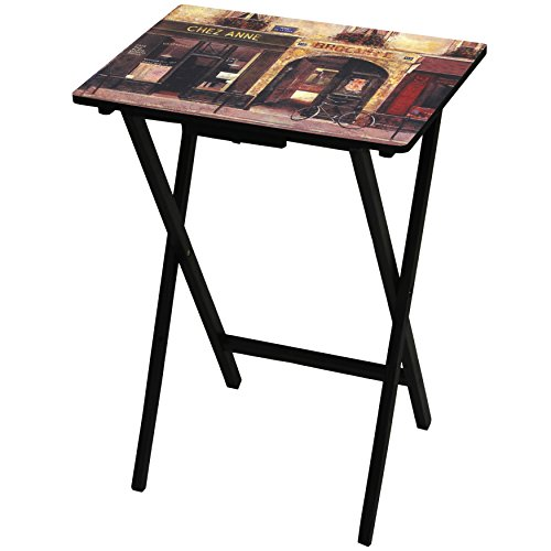 Oriental Furniture Parisian Cafe TV Tray by ORIENTAL FURNITURE