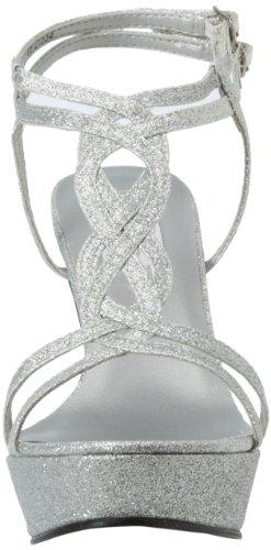 Dyeables Donna Vivi Sandalo Glitter Argento