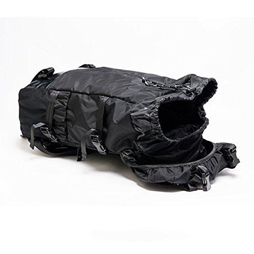 AMOS Hombro bolsa de gran capacidad de color sólido cordón al aire libre hombres y mujeres de viaje mochila deportes de senderismo mochila
