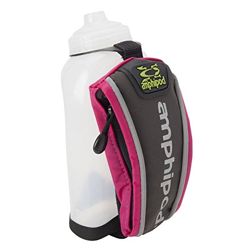 AMPHIPOD 40003-12-16 Hydraform Jett-Lite Handheld 12oz Raspberry Bottle