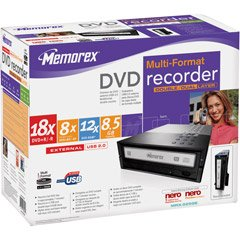 Memorex 18X DVD Multi Dl Ext Drive