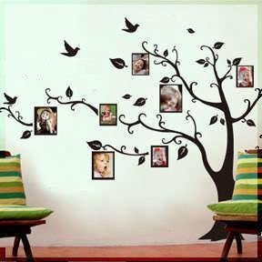 Removable Wall Decor Decal Sticker Tree Vine Sticker DESIGN 1
