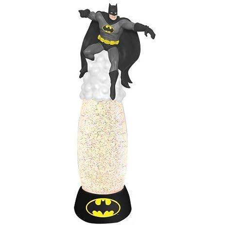 Westland Giftware Glitter Globe Lamp, 12 Inch High, DC Comics Batman