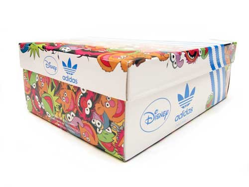 adidas AR 2.0 Animal Muppets Collaboration Black/Orange/White/Silver Limited Edition 762Bces