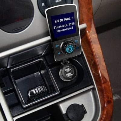 Schwarz Autoladeger/ät Mit Mikrofonfunktion 68 Bluetooth Player ExcLent Hy Mp3