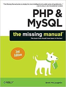 php mysql the missing manual pdf free download