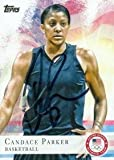 Candace Parker autographed Basketball Card (US Olympics Team, WNBA) 2012 Topps #46