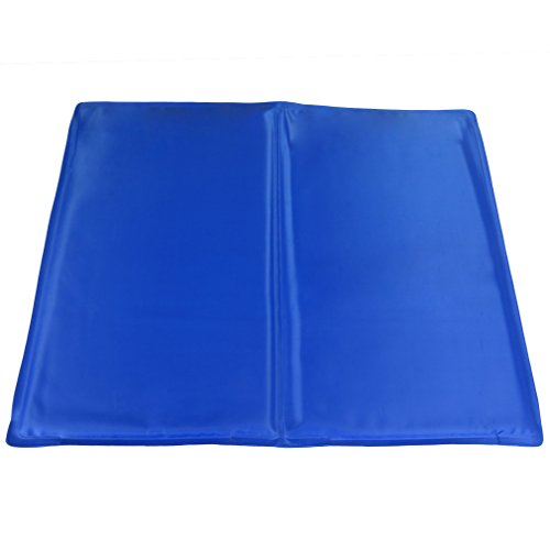 Evelots Pet Cooling Mat, Keep Cat/Dog Cool, 15.5 By 19,Blue,
